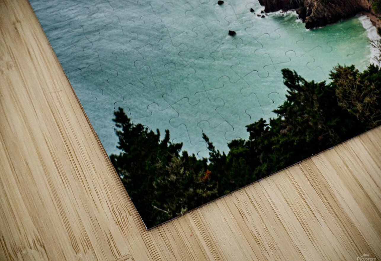 Kirby Cove HD Sublimation Metal print