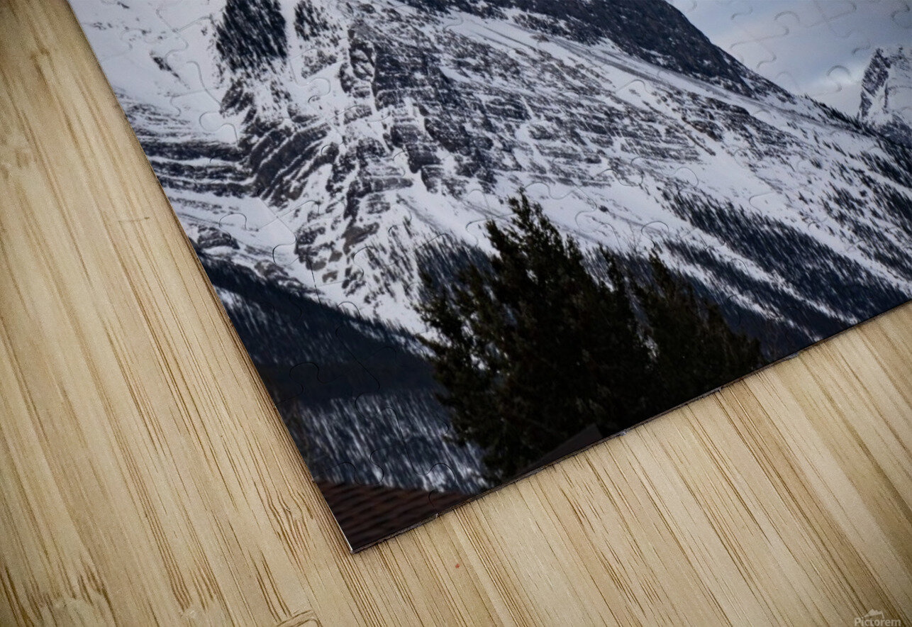 Ha Ling Mountain  HD Sublimation Metal print