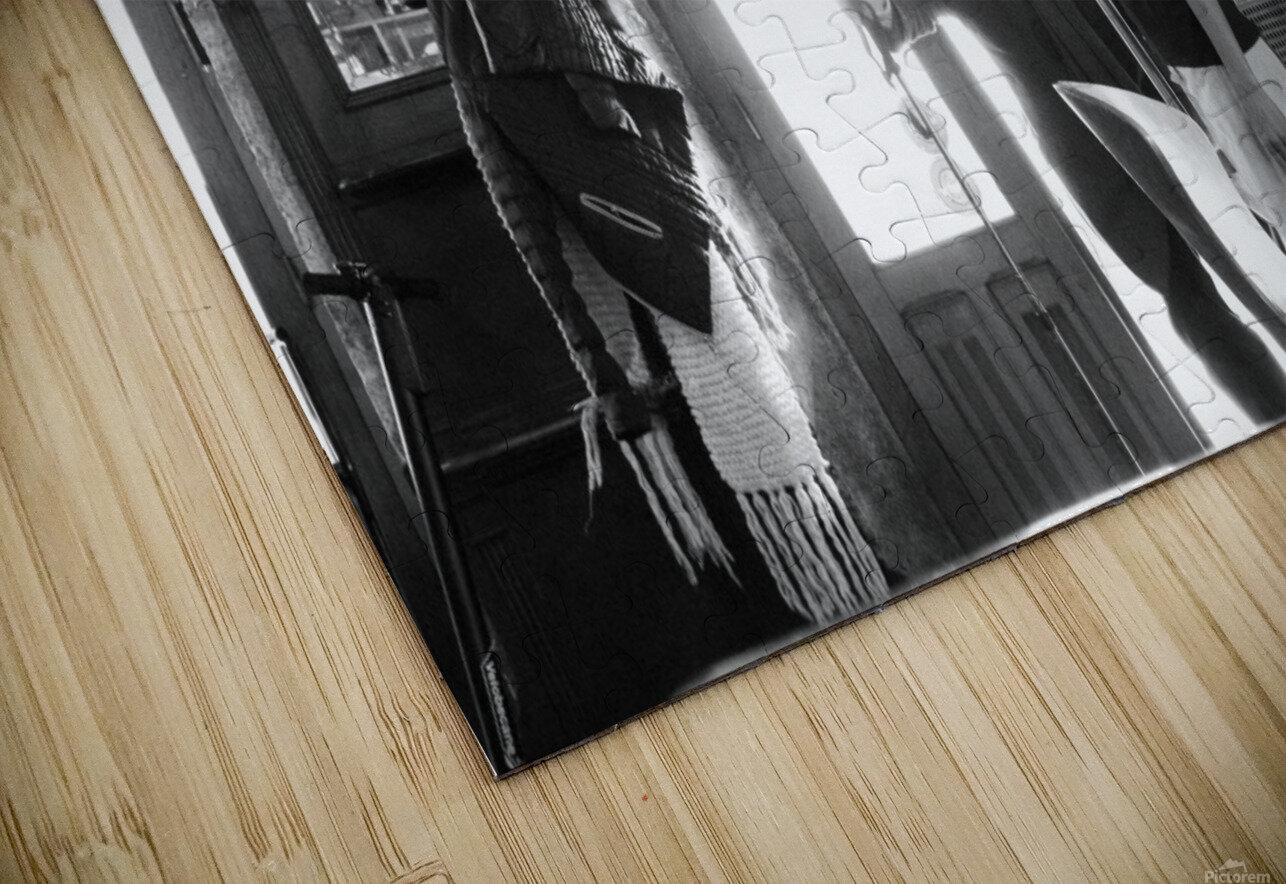 Bienvenue dans le Brasserie HD Sublimation Metal print