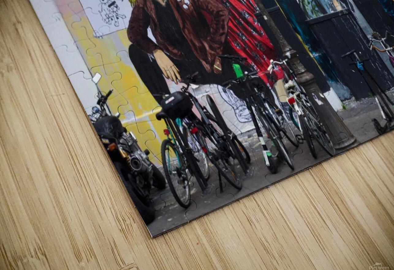 Dans Le Marais HD Sublimation Metal print