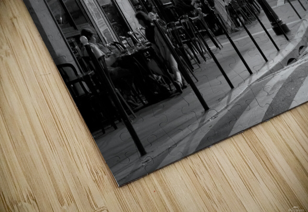 Brasserie les Buttes Chaumont HD Sublimation Metal print