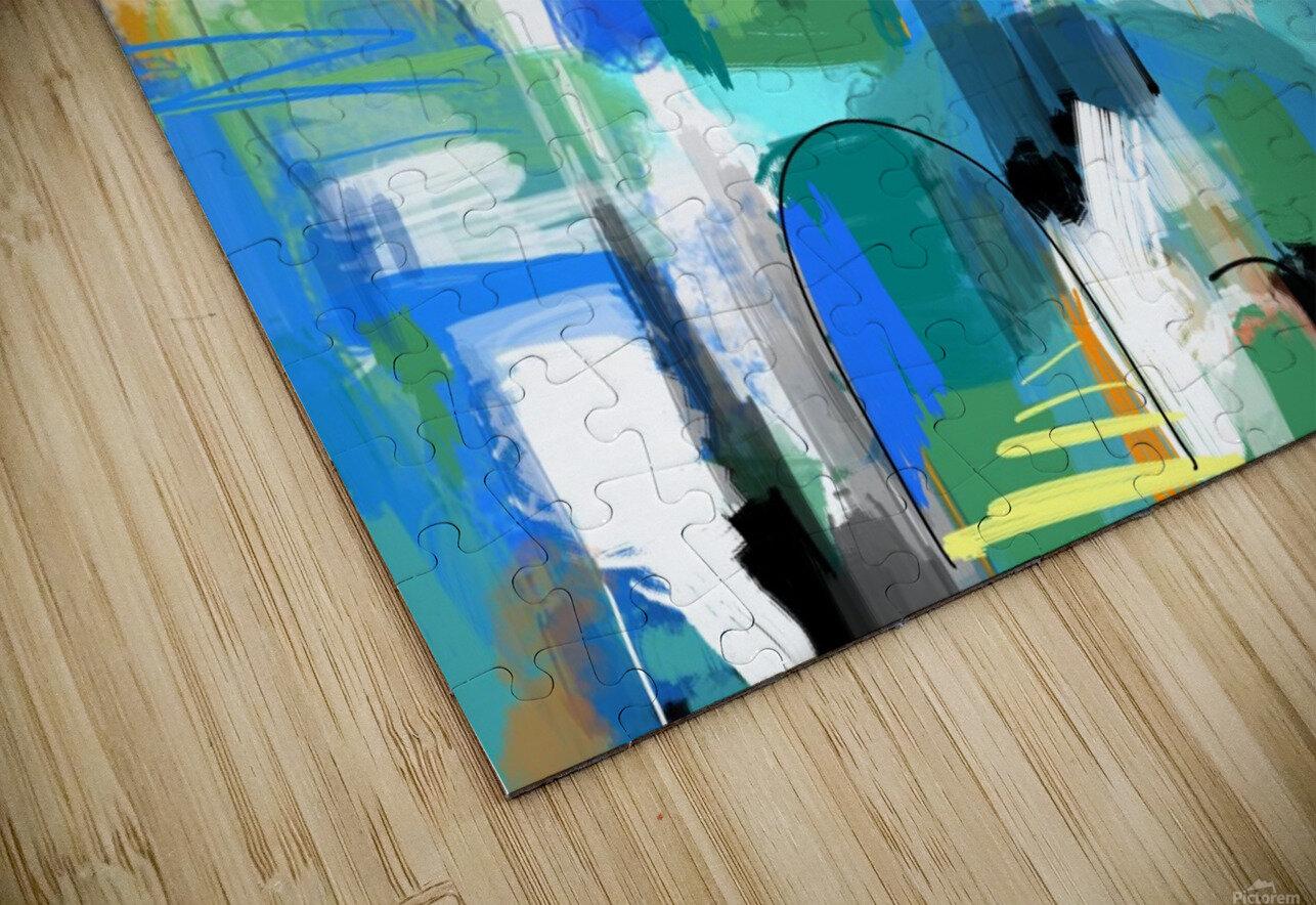 Azure Ascent HD Sublimation Metal print