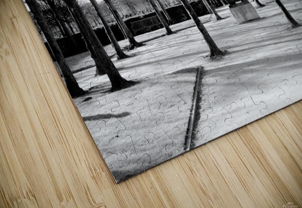 Reflection de la Nuit HD Sublimation Metal print