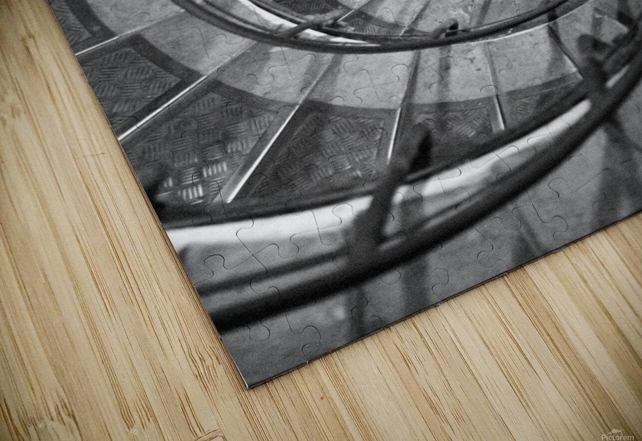 Escargot HD Sublimation Metal print
