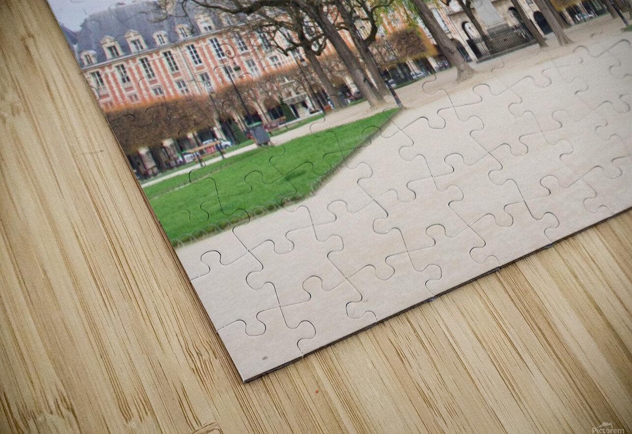Place des Vosges HD Sublimation Metal print
