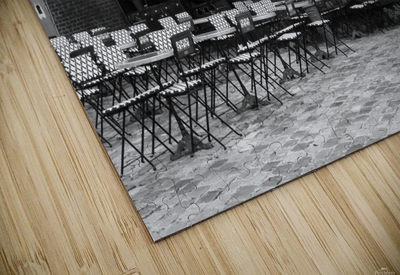 Les Abesses HD Sublimation Metal print