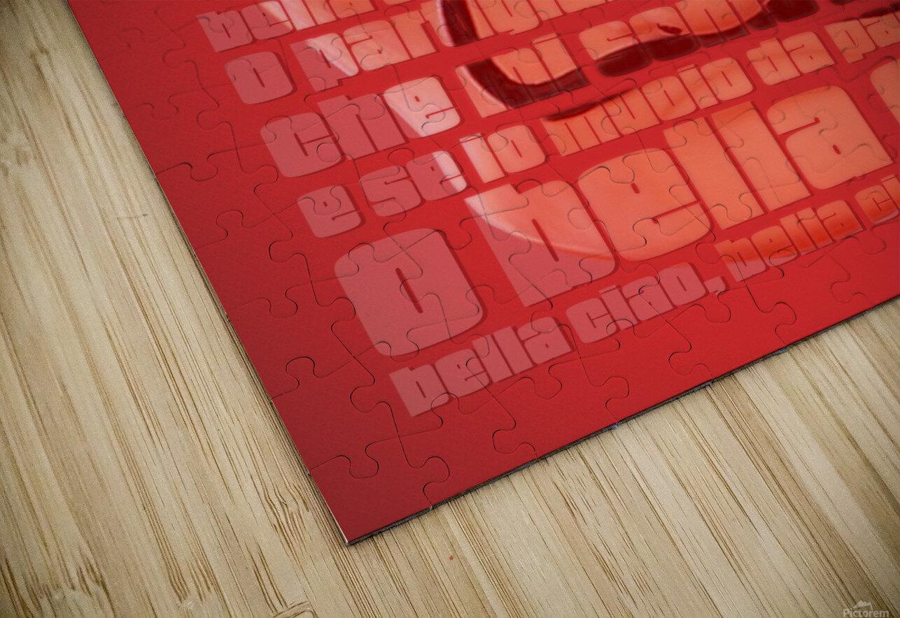 Bella Ciao HD Sublimation Metal print