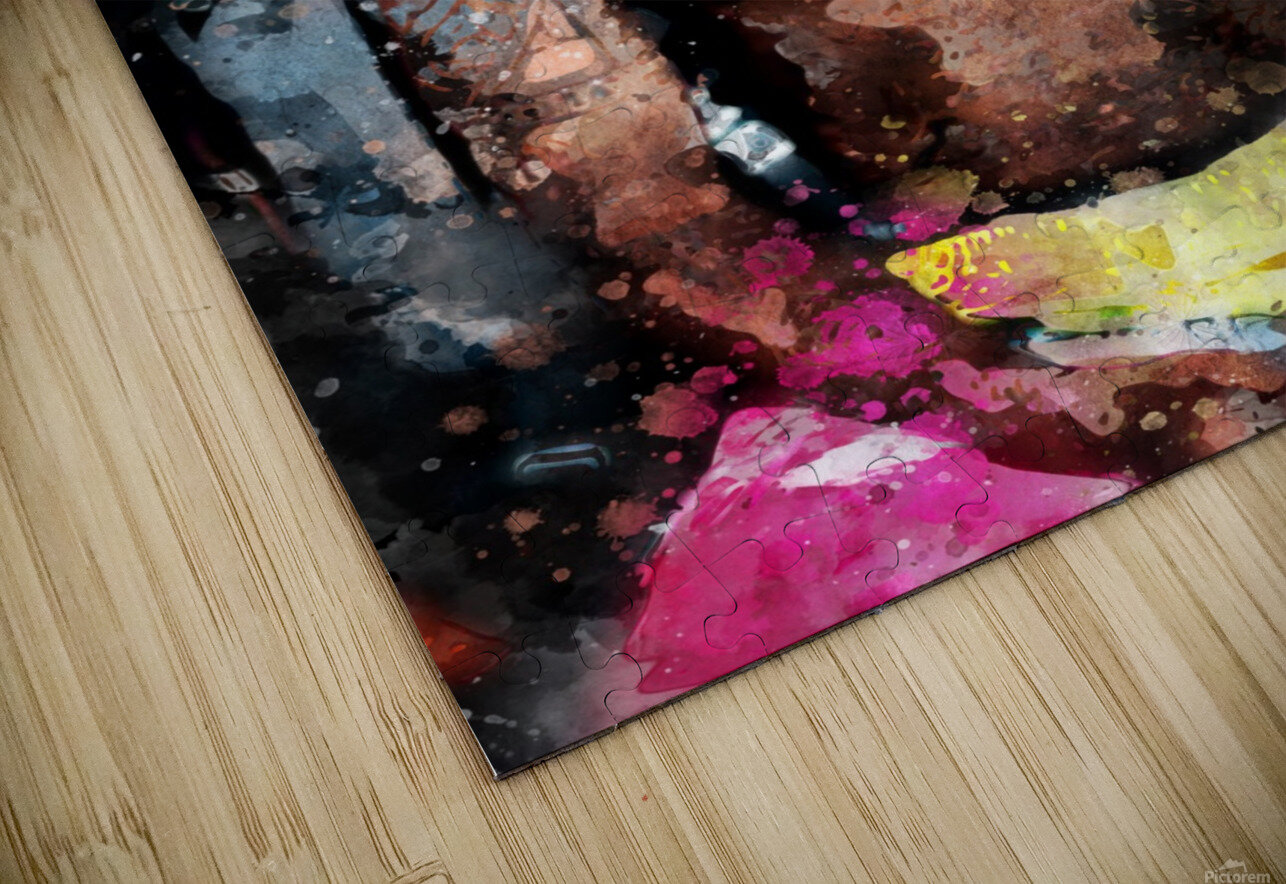 16 HD Sublimation Metal print