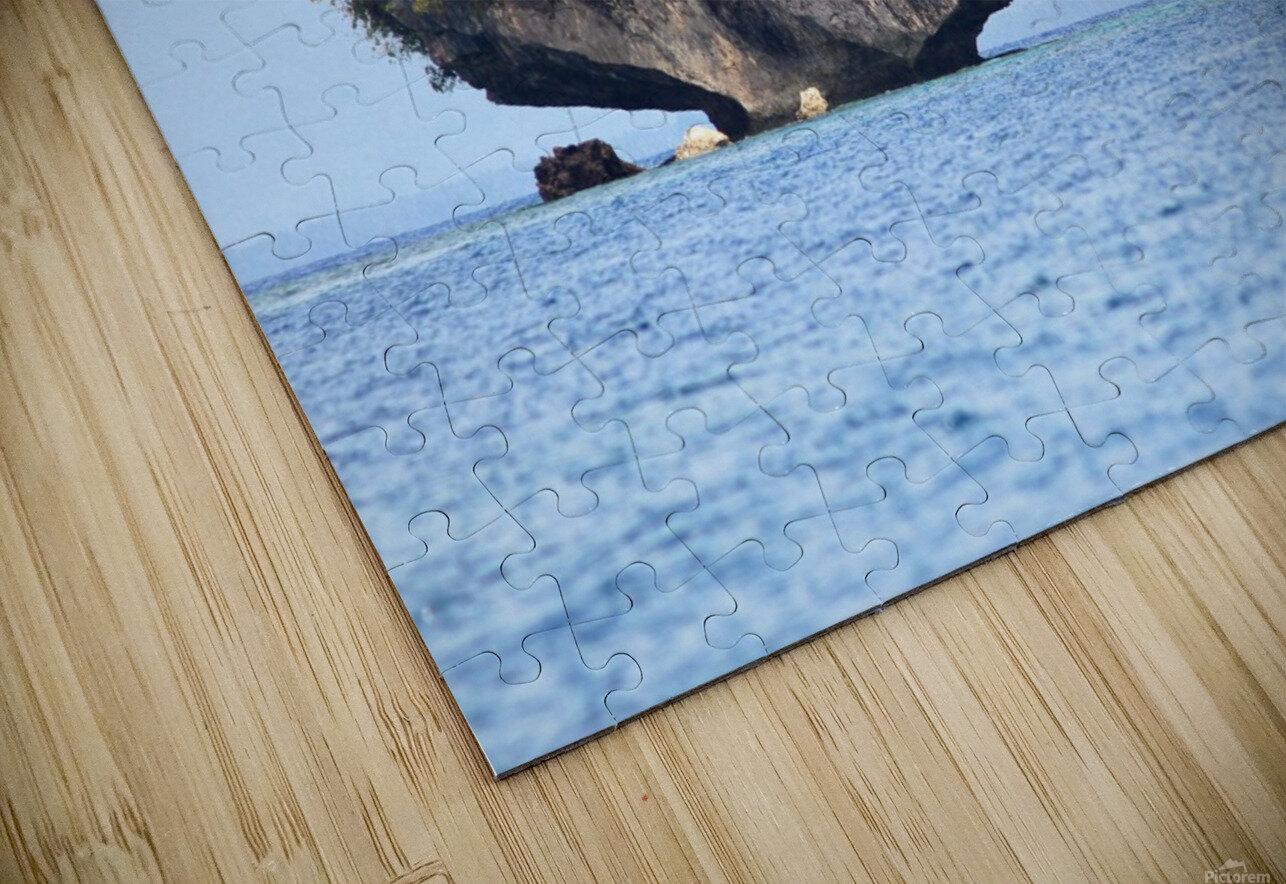 Rock Island HD Sublimation Metal print