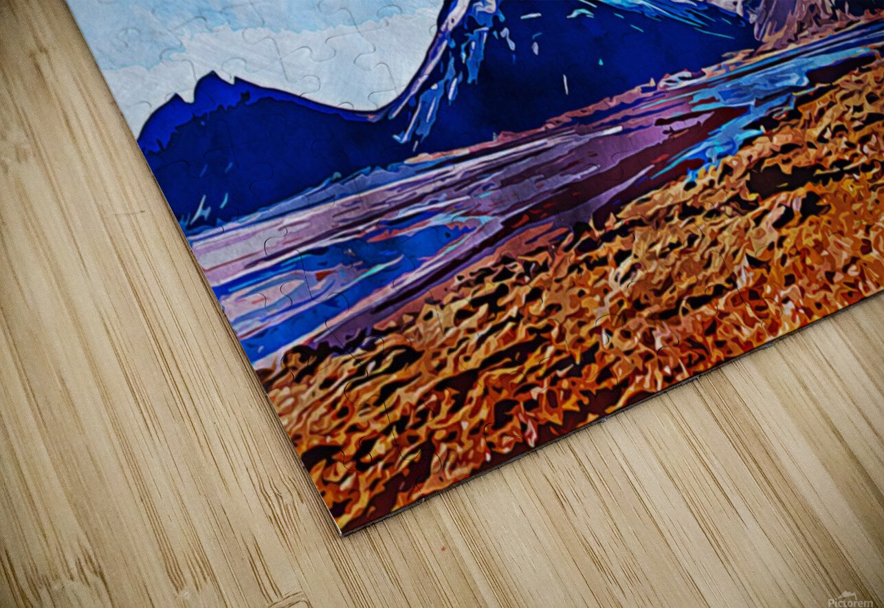 Nature View  HD Sublimation Metal print