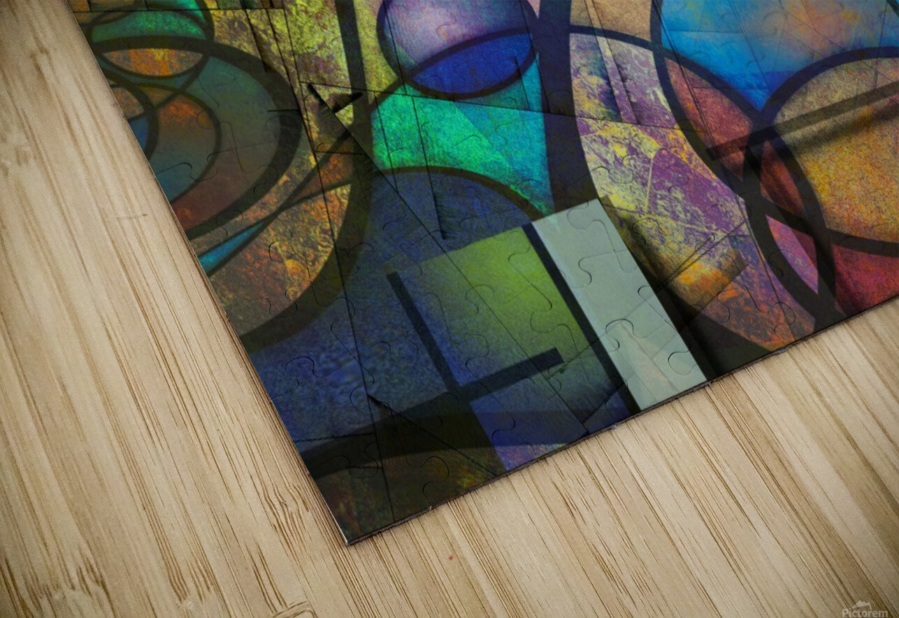 Trendy Abstract Art HD Sublimation Metal print