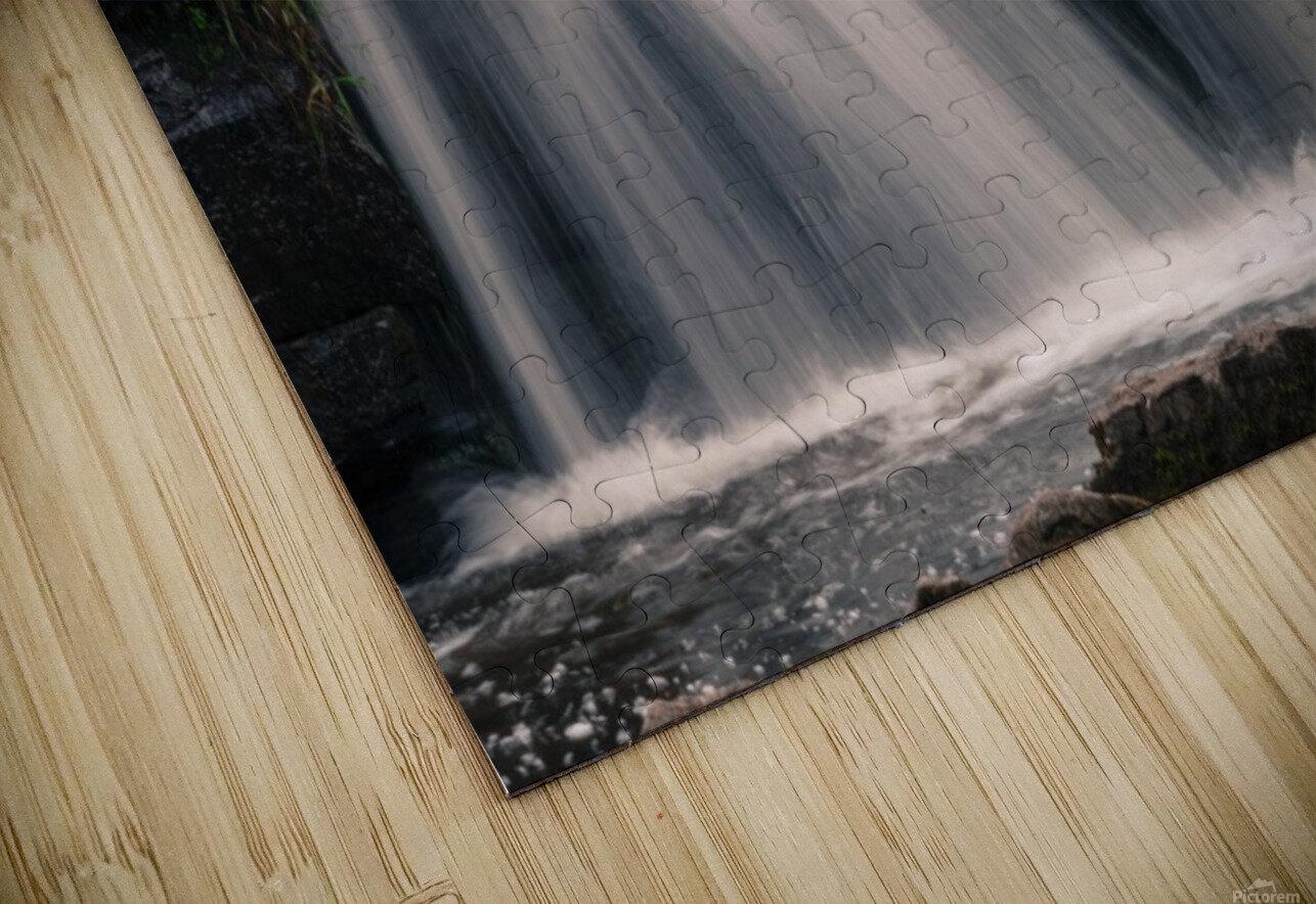 Waterfalls in Penllergare woods HD Sublimation Metal print