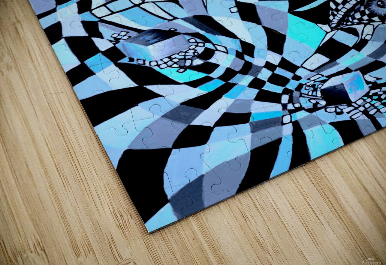 All Seeing Eye Pop Culture HD Sublimation Metal print