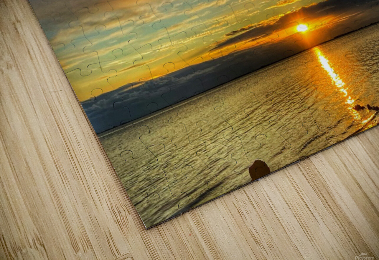 Ocean Sunsets HD Sublimation Metal print
