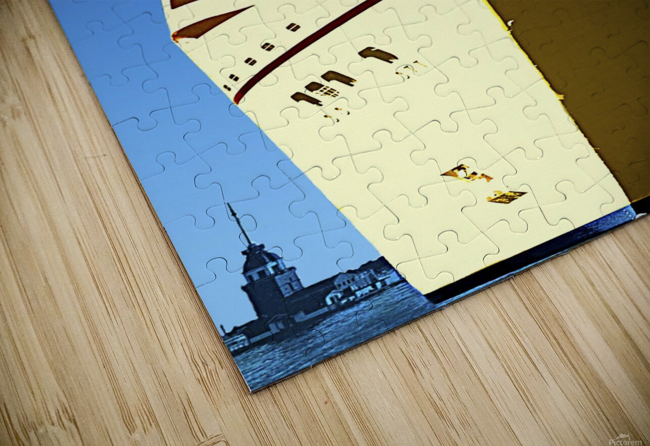 Cruise Istanbul HD Sublimation Metal print