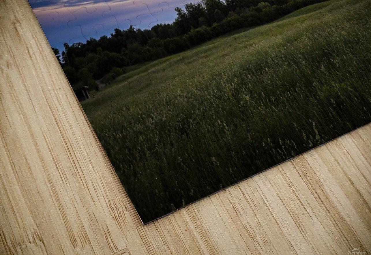 Creekside Sunset 2 HD Sublimation Metal print