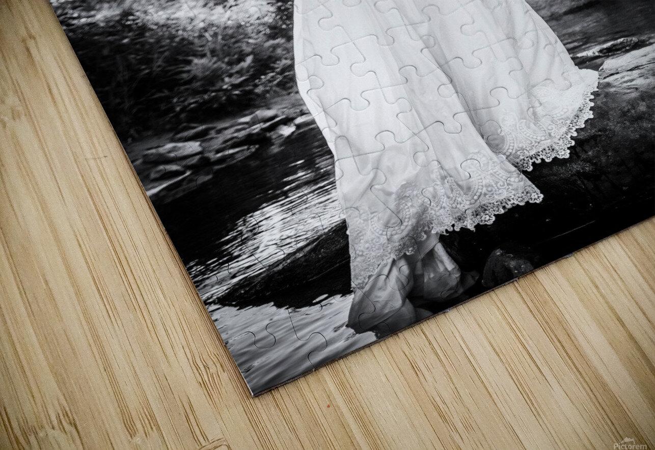 Linquietude dOphelia HD Sublimation Metal print