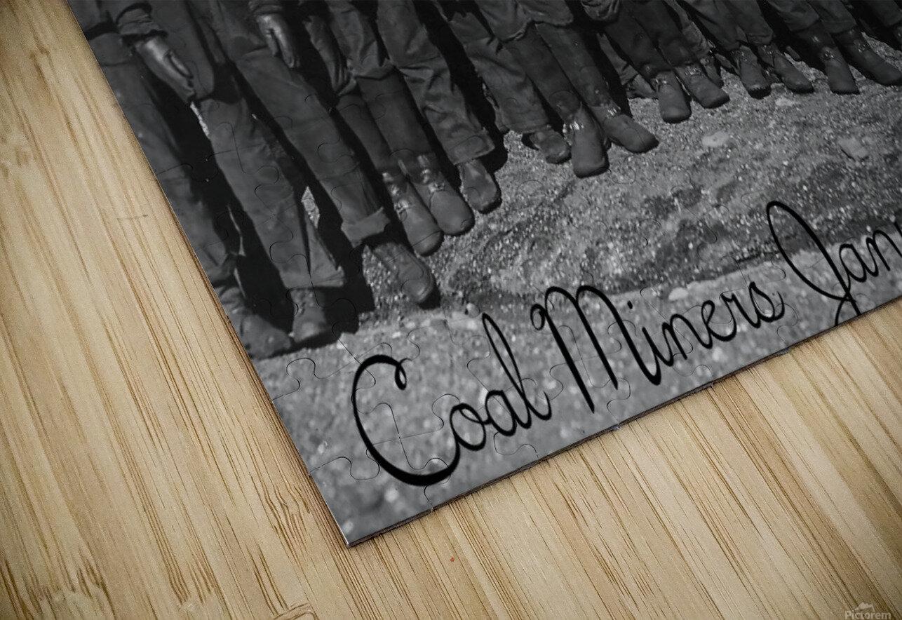 Coal Miners January 1911 HD Sublimation Metal print