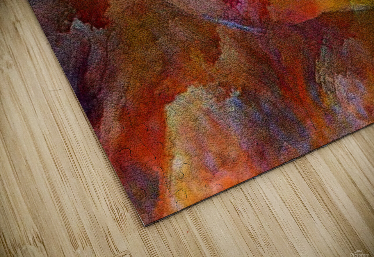 abstracart26 HD Sublimation Metal print