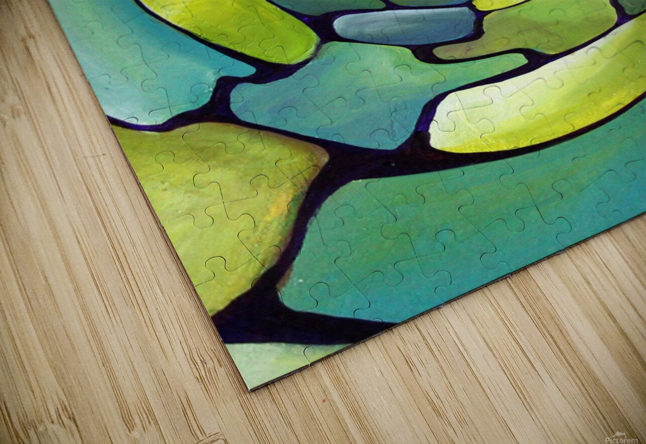 Artdeco Centered Pattern  HD Sublimation Metal print