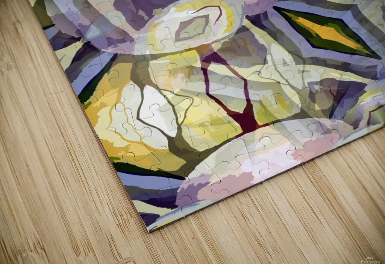 Biophilian Mystique Texture  HD Sublimation Metal print