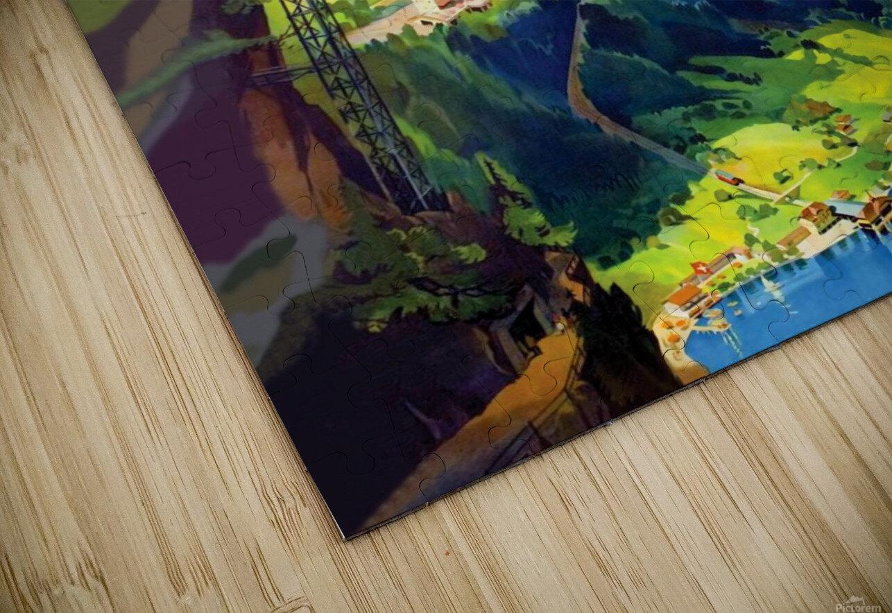 Burgenstock HD Sublimation Metal print
