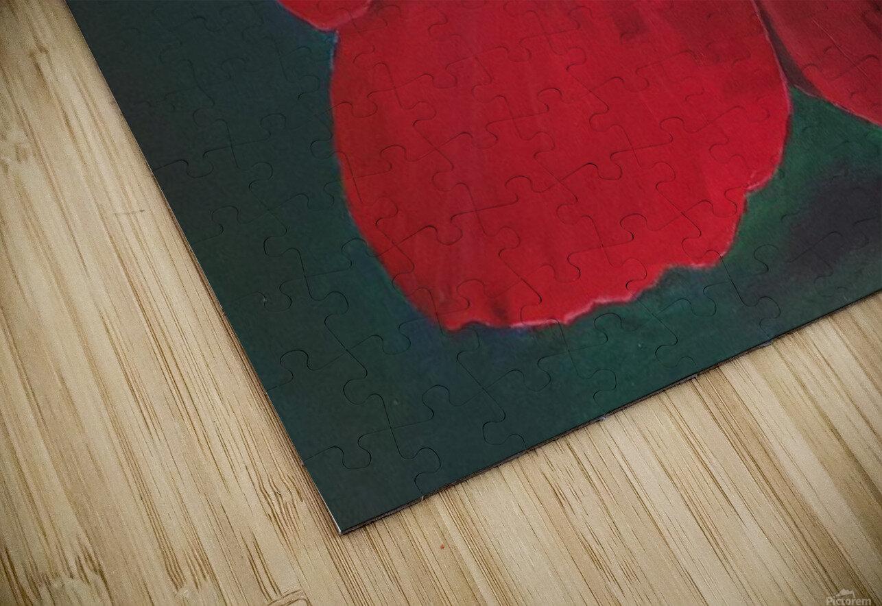 Hibiscus Impression de sublimation métal HD