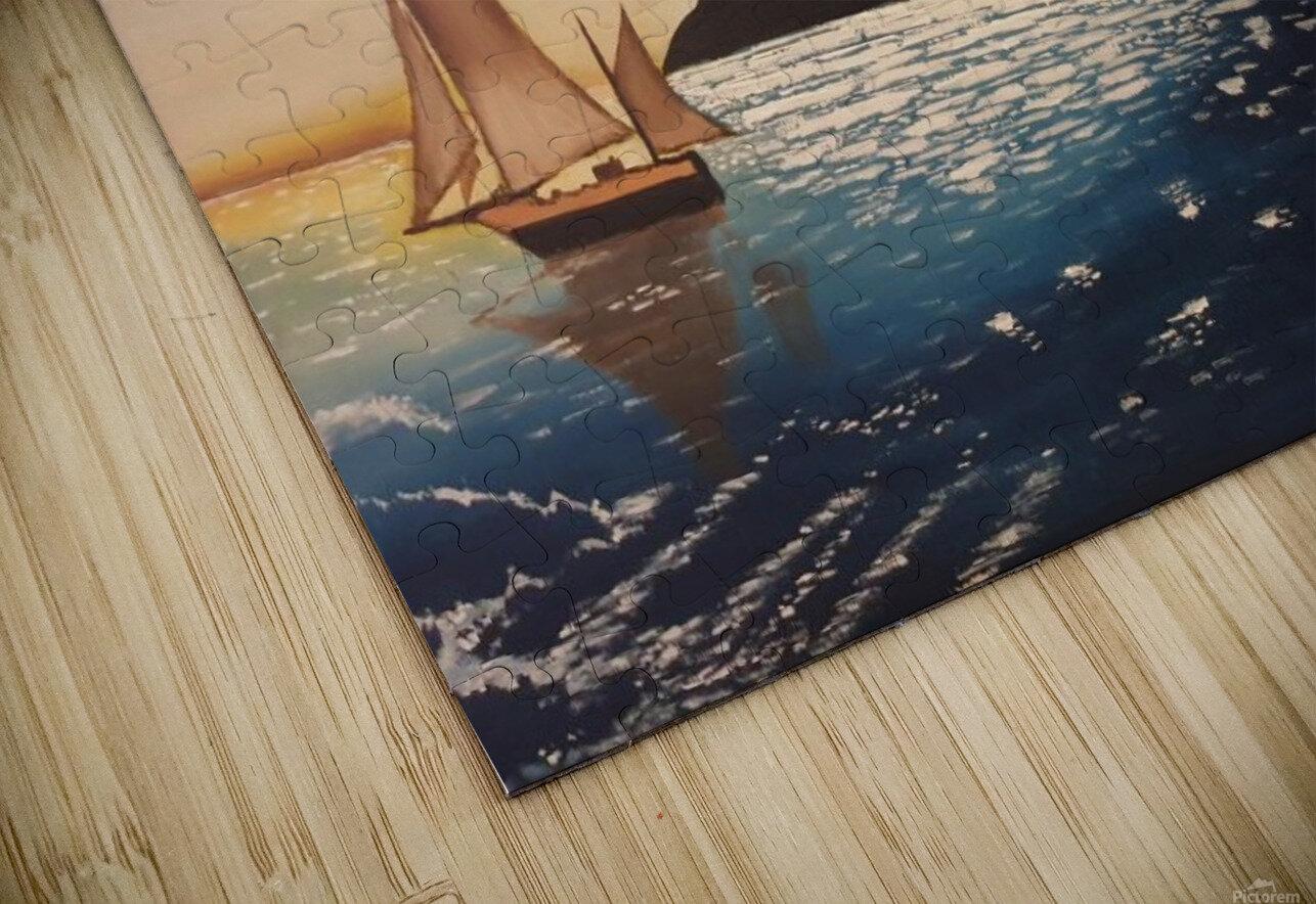 solitaire HD Sublimation Metal print