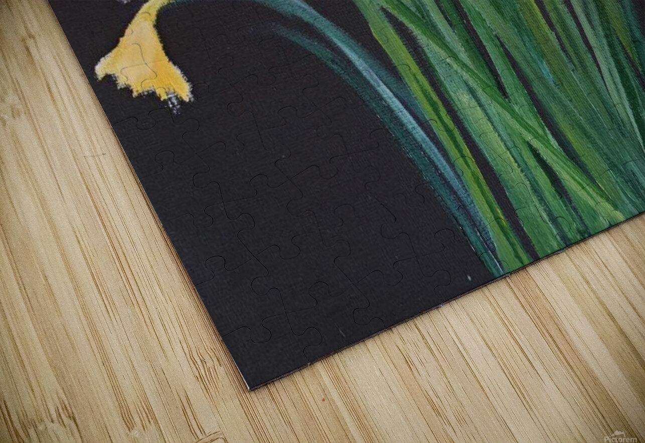 daffodils HD Sublimation Metal print