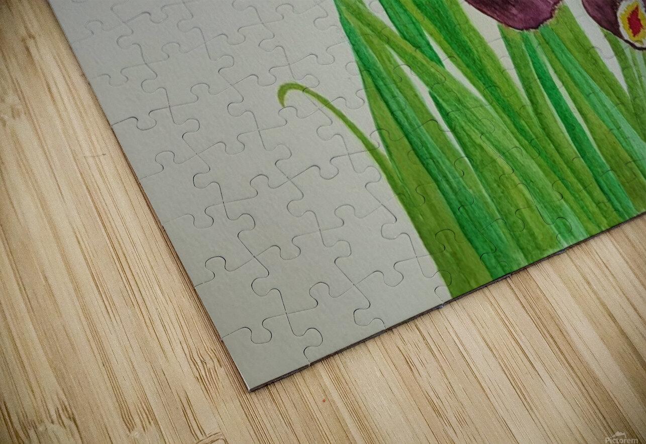 Irises Impression de sublimation métal HD