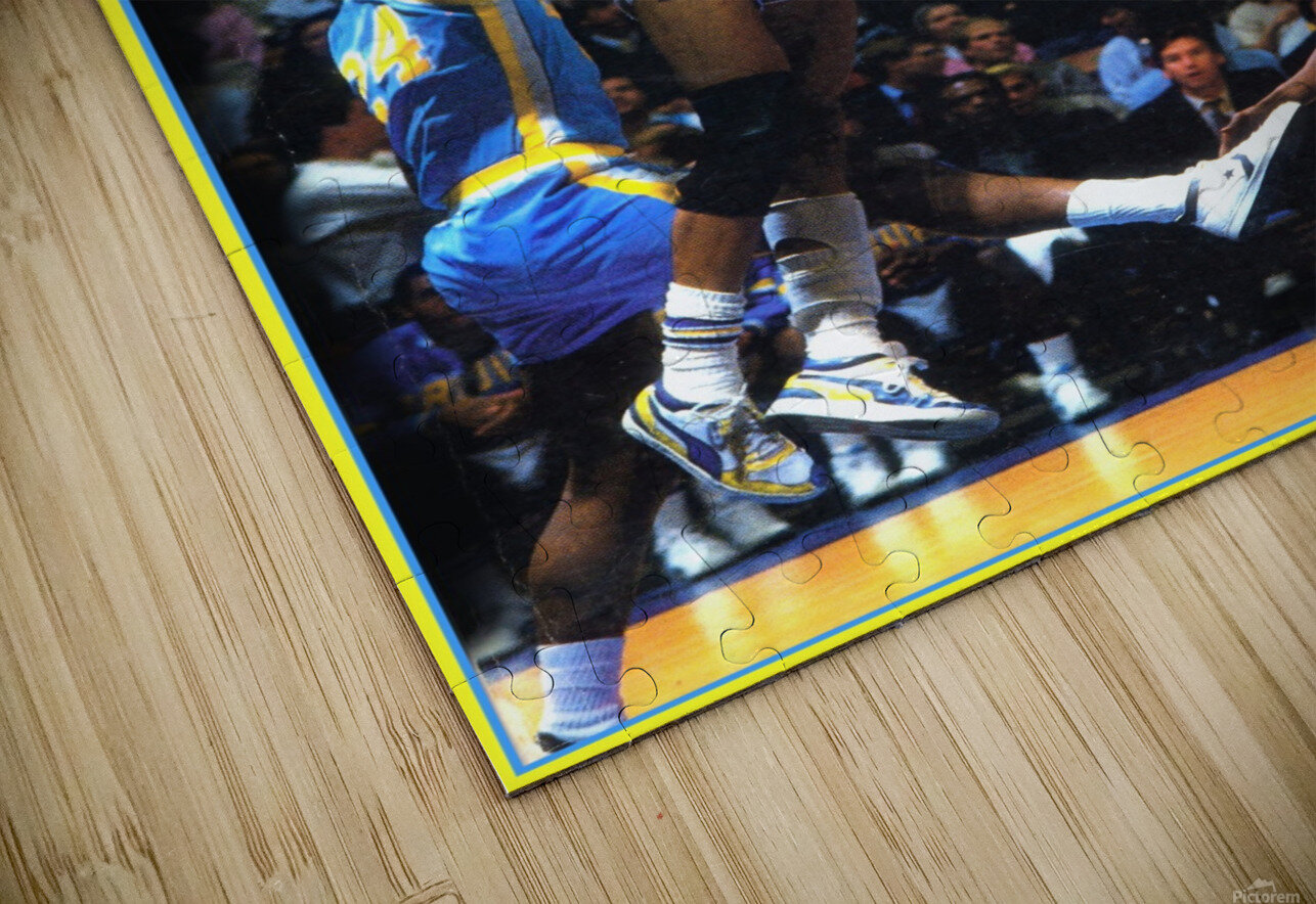 1986 ucla basketball reggie miller poster HD Sublimation Metal print