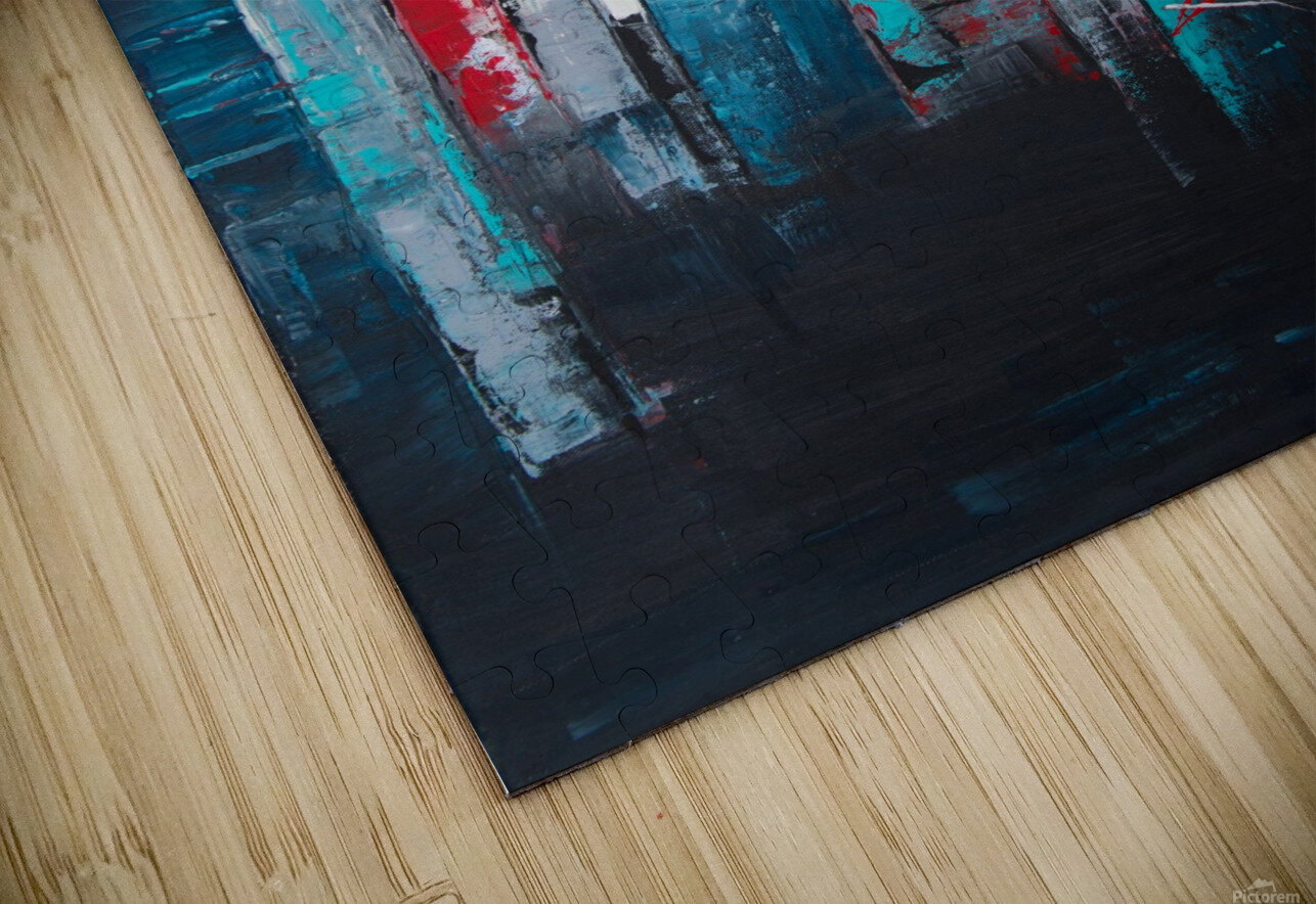 Uptown IV HD Sublimation Metal print