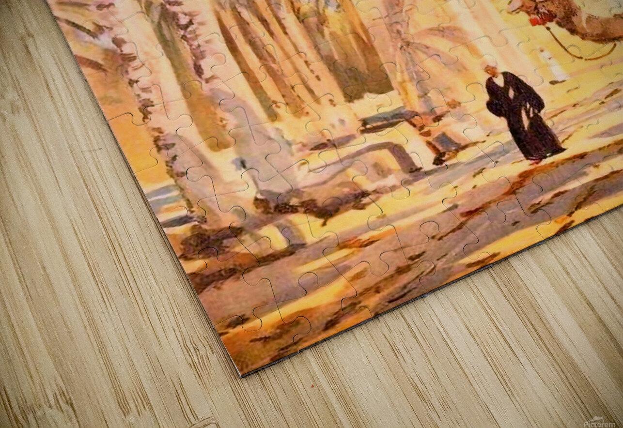 Karnak HD Sublimation Metal print