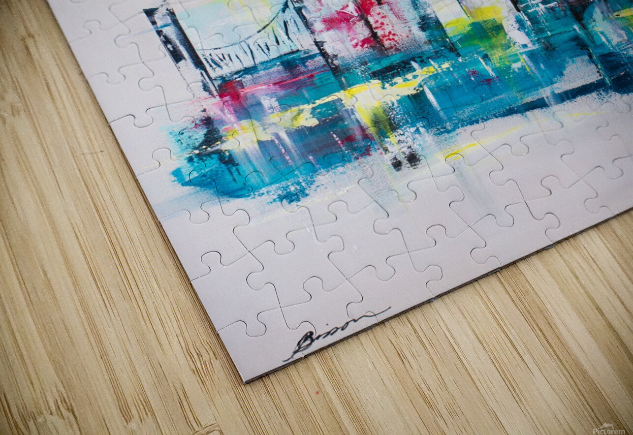 Uptown HD Sublimation Metal print