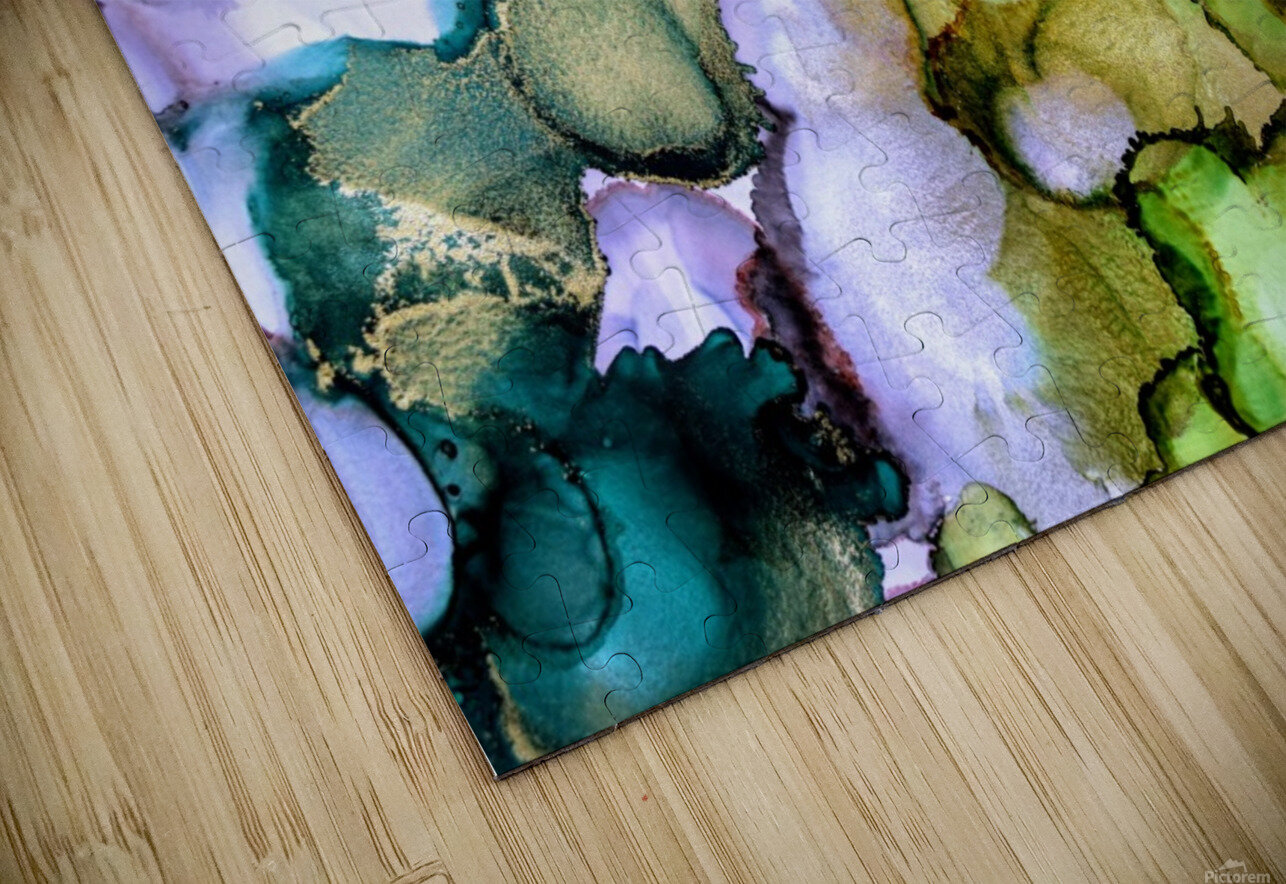 Forest Echoes HD Sublimation Metal print