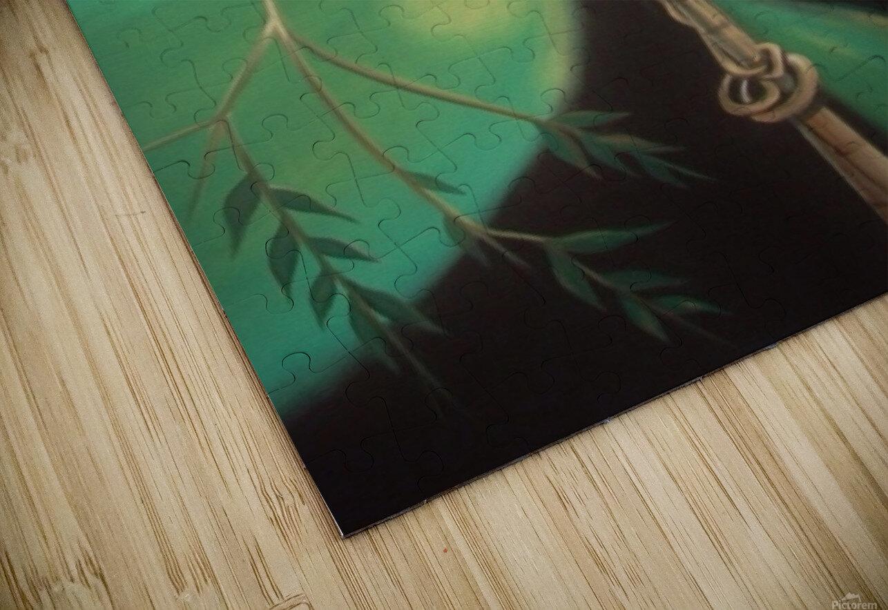 purple gallinule HD Sublimation Metal print
