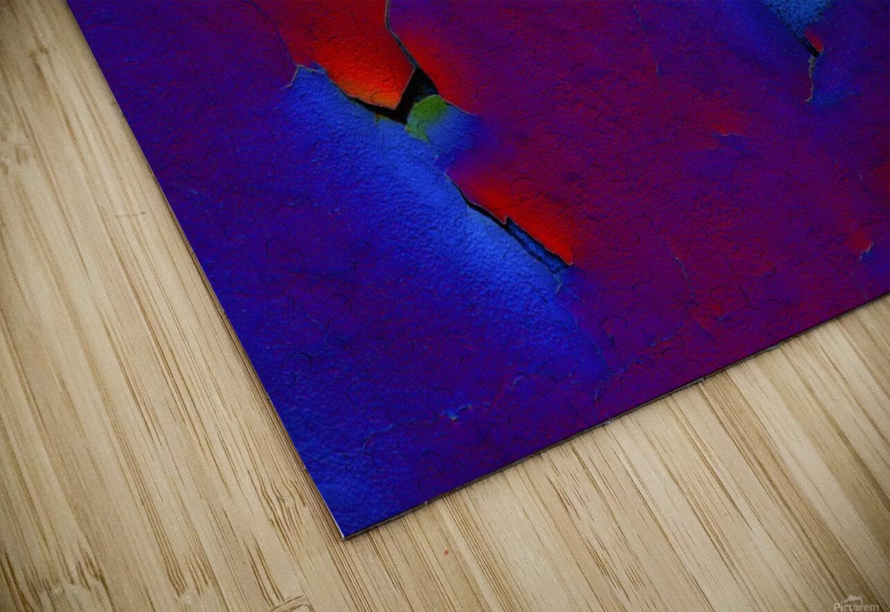 Rouge ecaille HD Sublimation Metal print