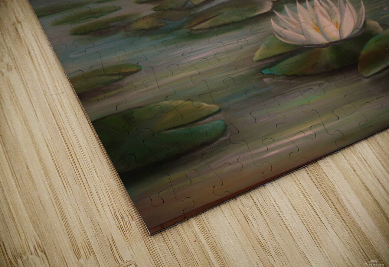 water lillies HD Sublimation Metal print