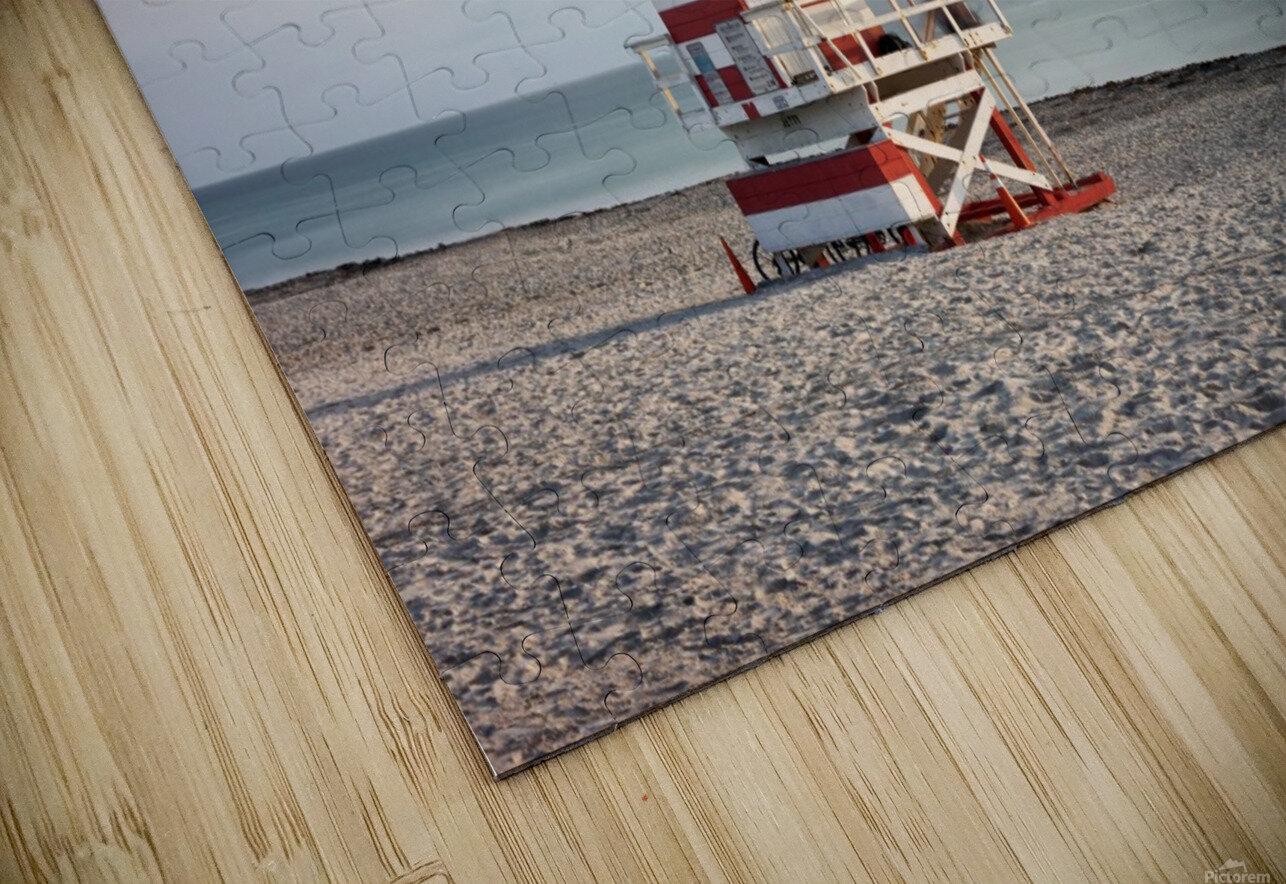Miami Beach 029 HD Sublimation Metal print