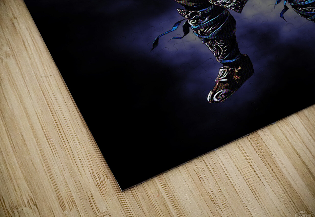Sub Zero   Mortal Kombat HD Sublimation Metal print