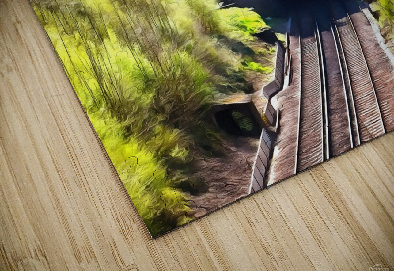 Clayton Tunnel in Sussex England HD Sublimation Metal print