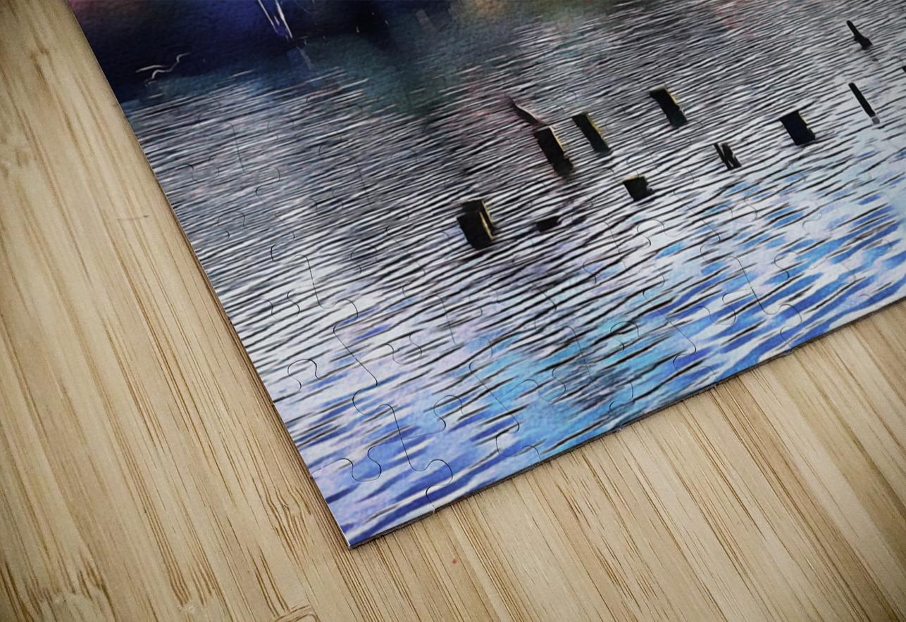 Lago di Chiusi Tuscany HD Sublimation Metal print