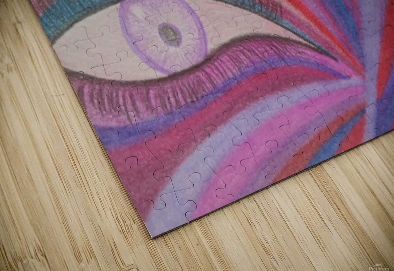 Fairy Eye HD Sublimation Metal print