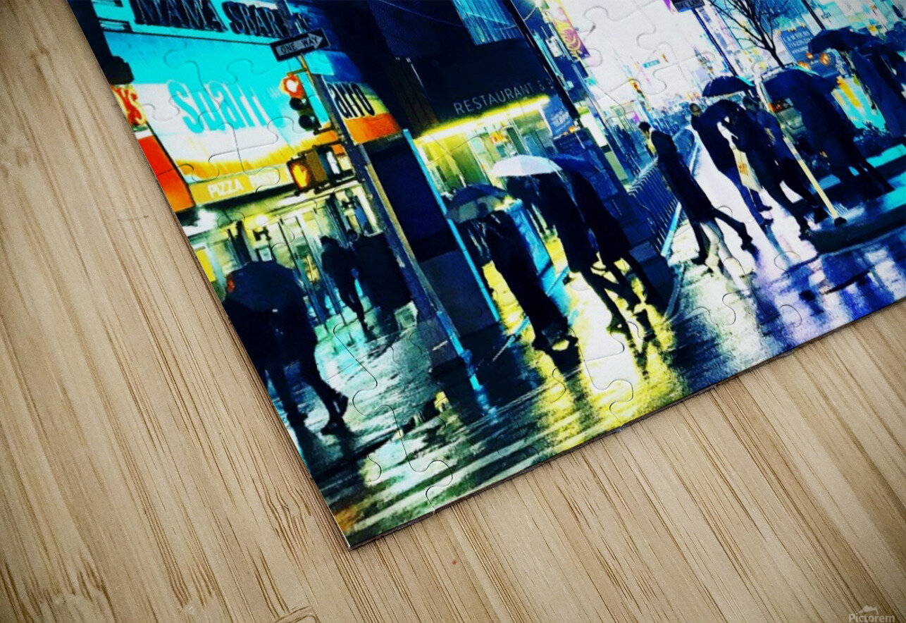 Time square New-York  HD Sublimation Metal print