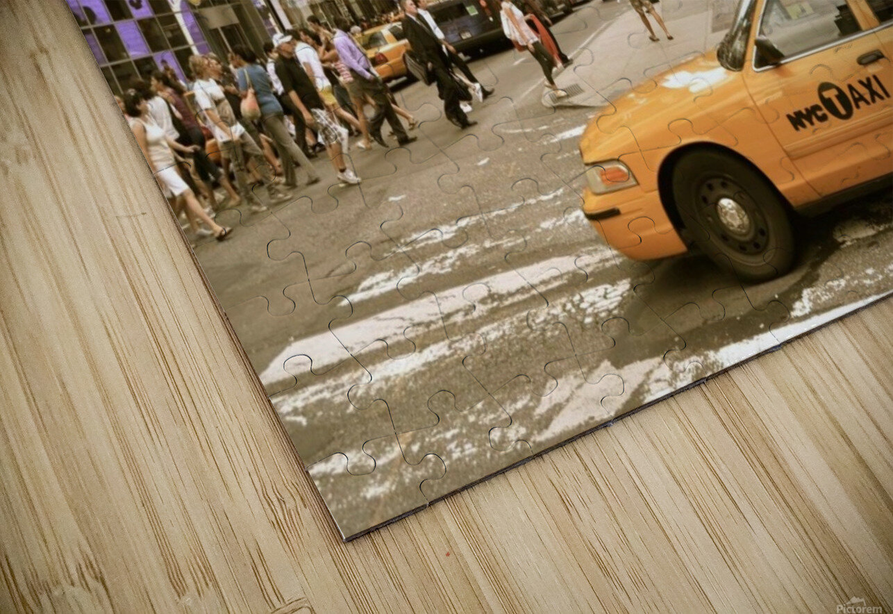 Newyork newyork HD Sublimation Metal print