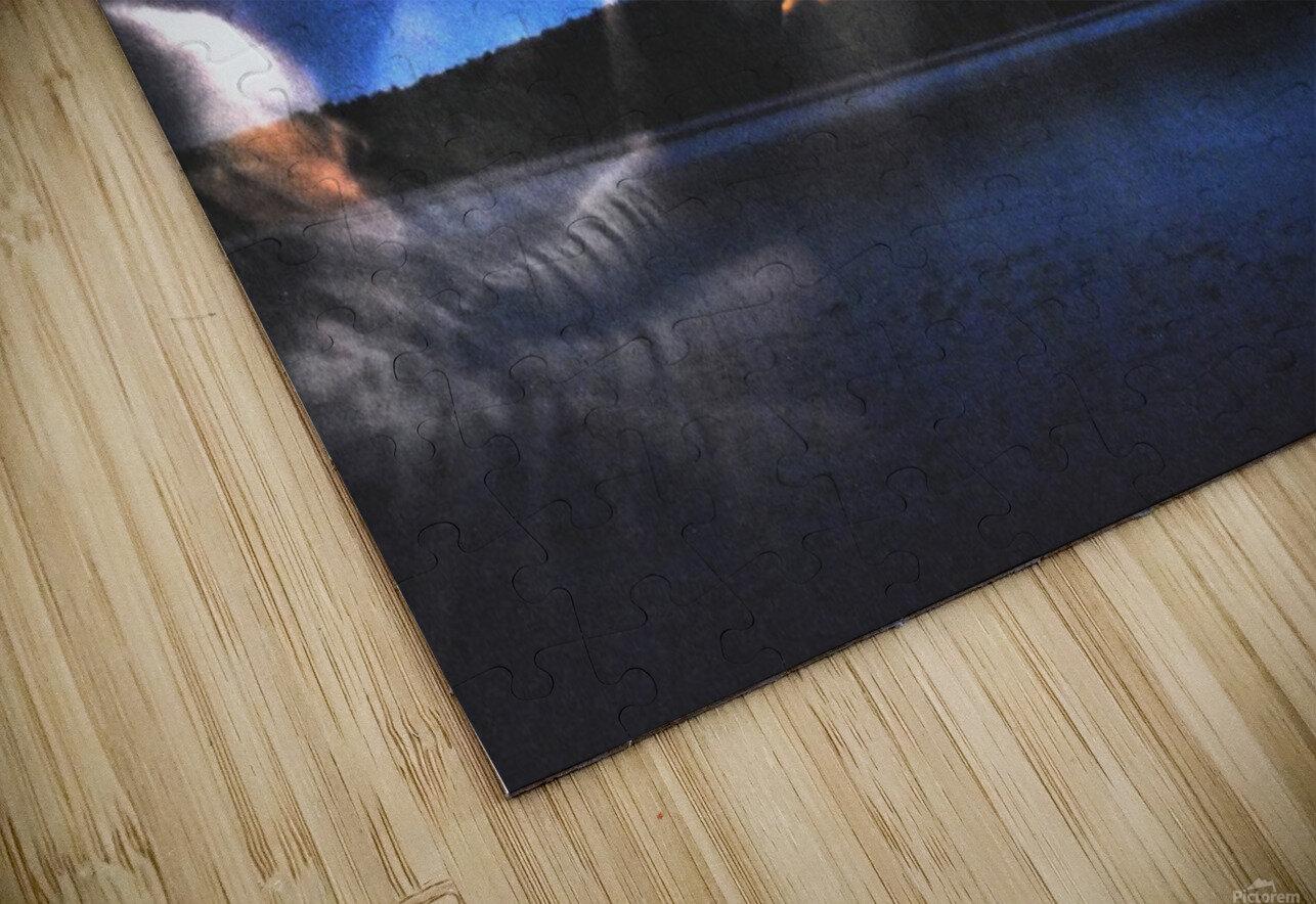 Light trail  HD Sublimation Metal print