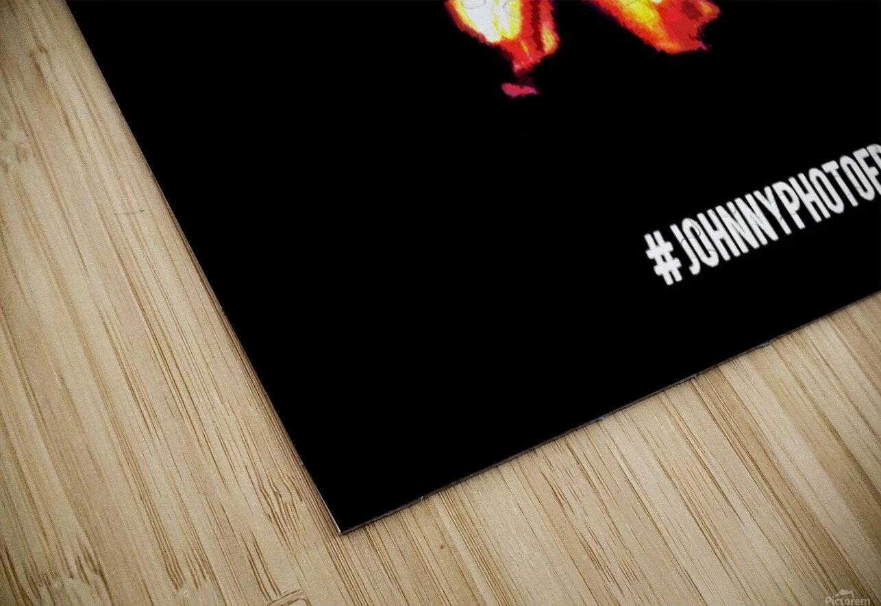 Fire Stick Man  HD Sublimation Metal print