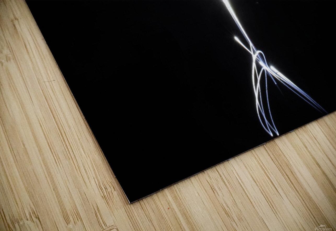 light stick man HD Sublimation Metal print