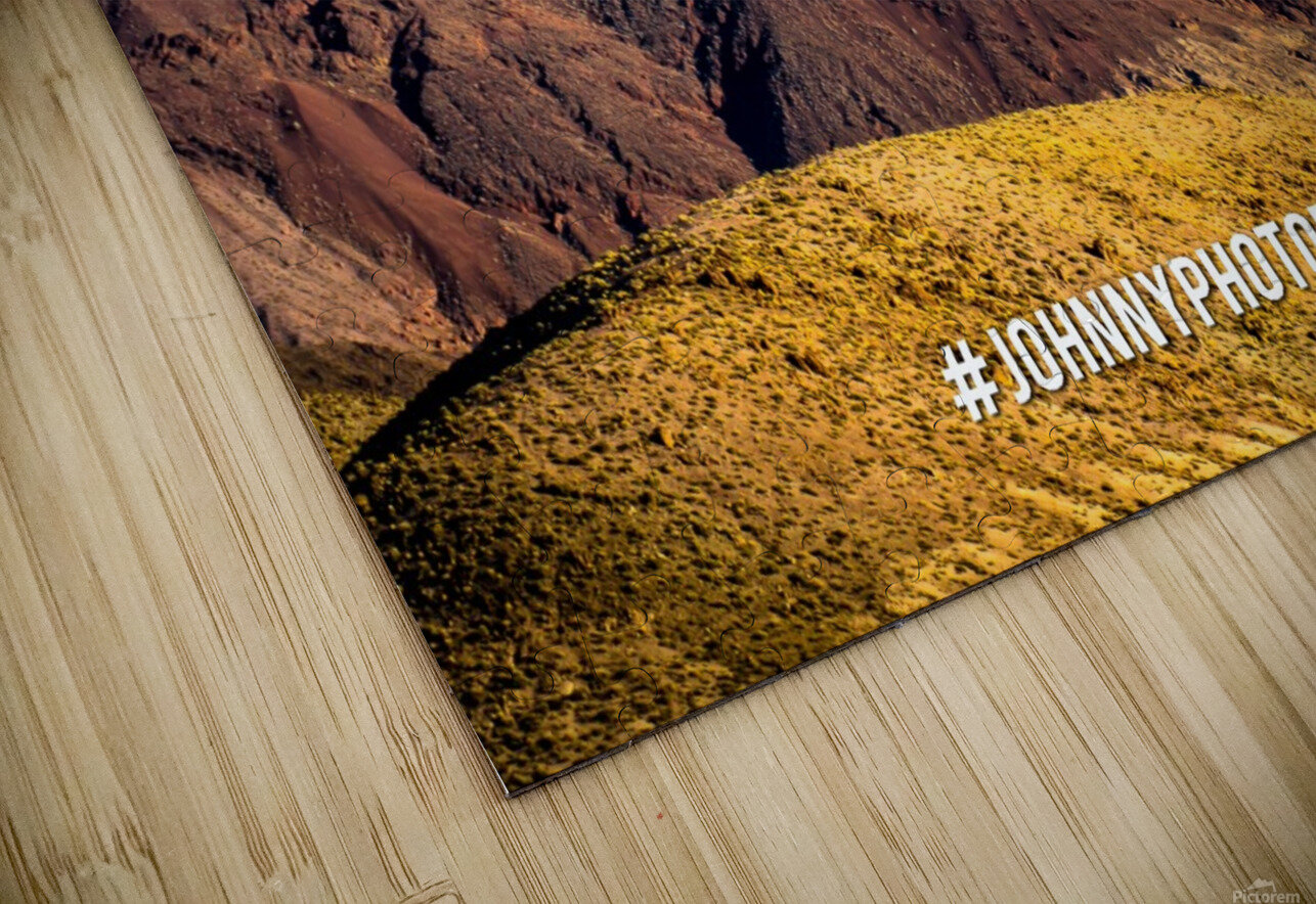 Death Valley HD Sublimation Metal print