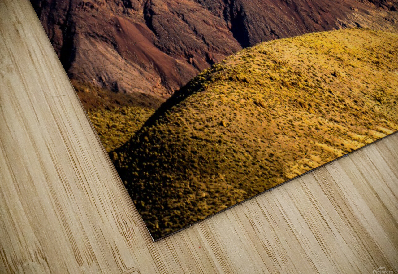 Death Valley mountain HD Sublimation Metal print